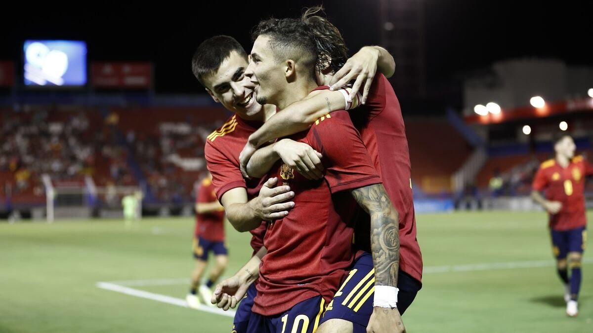 Yeremi Pino posible triada tras el Italia 1 España 2